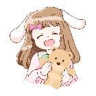 软兔丸子拿梨跑